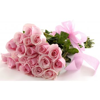 Paris flowers  -  Pretty Pink Flower Bouquet/Arrangement