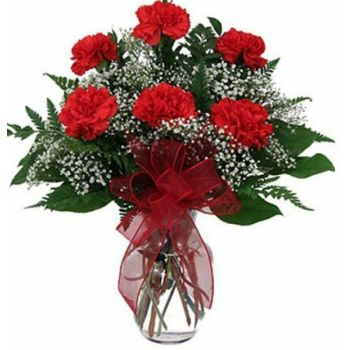 Costa Rica online Florist - Sentiment Bouquet