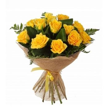 Santo Domingo flowers  -  Simply Beautiful Flower Bouquet/Arrangement