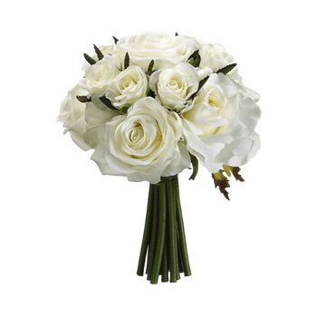 Tenerife flowers  -  Classic White Romance Flower Bouquet/Arrangement