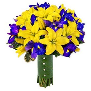 Ireland flowers  -  Spring Romance Flower Bouquet/Arrangement