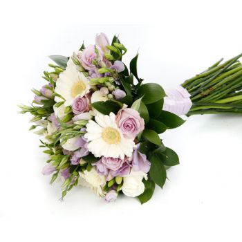 St. Thomas Fleuriste en ligne - Purple Romance Bouquet
