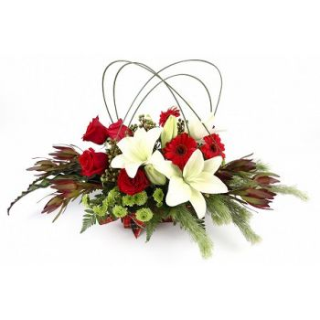 Casablanca flowers  -  Splendor Flower Bouquet/Arrangement