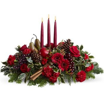 Santo Domingo flowers  -  Noel Flower Bouquet/Arrangement
