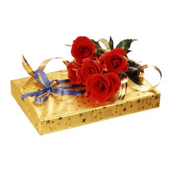 Novosibirsk online Florist - I Love You Bouquet
