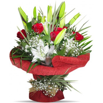 Binche flowers  -  Sweet Moment Flower Delivery