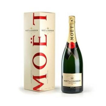 Santander flowers  -  Champagne Moët & Chandon  Flower Delivery