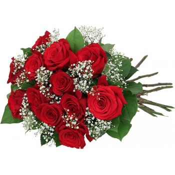 St. Lucia flowers  -  Scarlet Love Flower Delivery