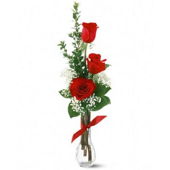 fleuriste fleurs de Hillsborough- Douce passion Bouquet/Arrangement floral