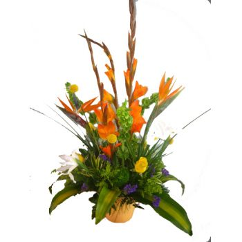 St. Lucia online Florist - Tropical Surprise Bouquet