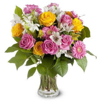 Omsk flowers  -  Stunning Beauty Flower Bouquet/Arrangement