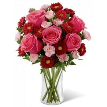 fleuriste fleurs de Saint Martin- Girl Power Bouquet/Arrangement floral