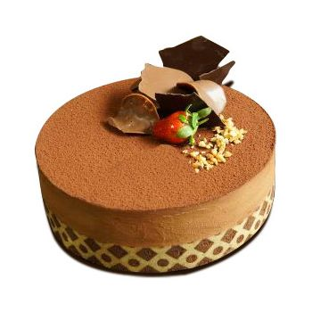 Jakarta flowers  -  Tiramisu Chocolate Flower Delivery