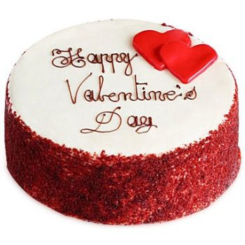 Batam online Florist - Love Red Velvet Bouquet