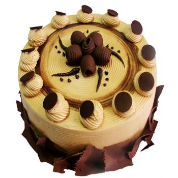 Java flowers  -  Mocca Creamy Cake Flower Delivery