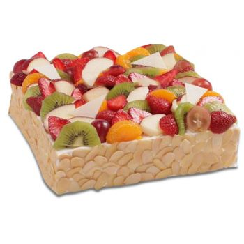 Indonésie Fleuriste en ligne - Shortcake fruit Bouquet