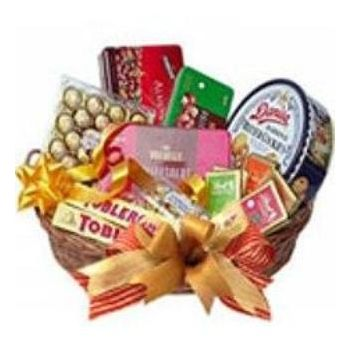 Bali online Florist - Choco and Cookie Delight Bouquet