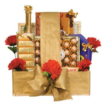 Bali online Florist - Chocolate Hamper Bouquet