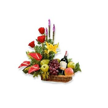 Trinidad online Florist - Tropical Celebration Bouquet