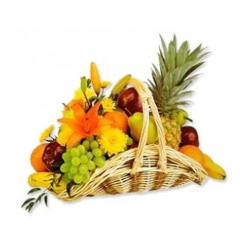 fleuriste fleurs de Sheffield- Fruit Fantasy Bouquet/Arrangement floral