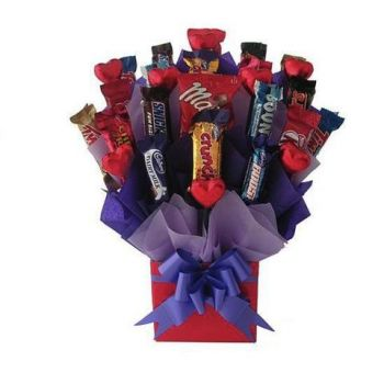 Trinidad online Florist - Birthday Chocolate Celebration Bouquet