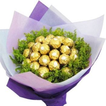 Lucknow flowers  -  Chocolate Bouquet Flower Delivery