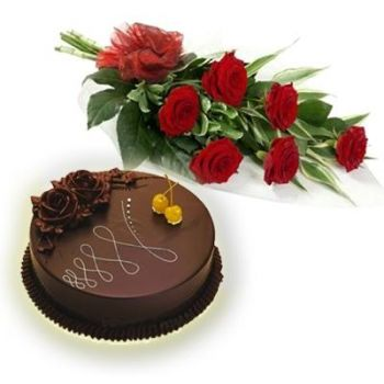 New Delhi online Florist - Tempting Love Bouquet