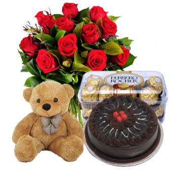 Bangalore online Florist - In Total Love Bouquet