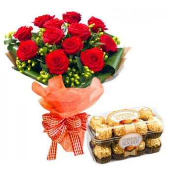 Batam flowers  -  Richly Deserved Flower Bouquet/Arrangement