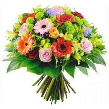 Muxamel blomster- Magic Blomsterarrangementer bukett