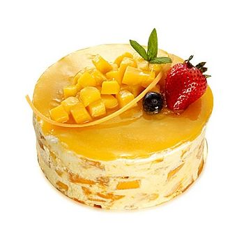 Dongguan flowers  -  Mousse Cake Flower Delivery