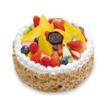 Guangzhou flowers  -  Fruit Cake  Flower Delivery