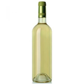 Mallorca online Florist - Bottle of White Wine Bouquet