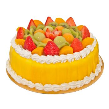Sharjah flowers  -  Mixed Fruit Cake Flower Delivery