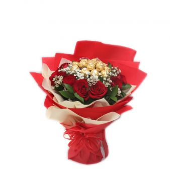 Koper flowers  -  Love Bouquet Flower Delivery