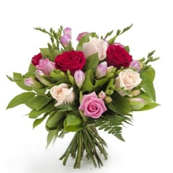 Zaragoza online Florist - A touch of love Bouquet