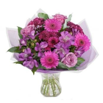 Gerona flowers  -  Love from Provence Flower Delivery