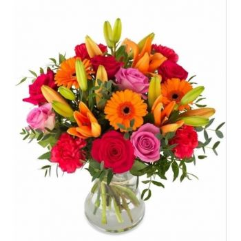 Binche flowers  -  Scents from Spain Flower Delivery