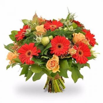 Lot flowers  -  Red Dream Flower Delivery