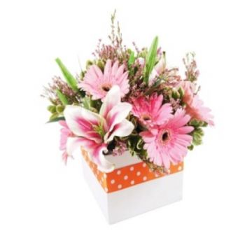 Jakarta flowers  -  Fresh pink surprise  Flower Delivery