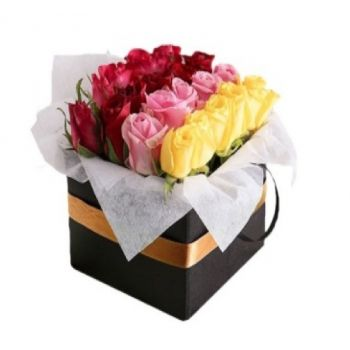 Jakarta flowers  -  Colourful special greetings  Flower Delivery