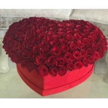 Jakarta online Florist - With all my love... Bouquet