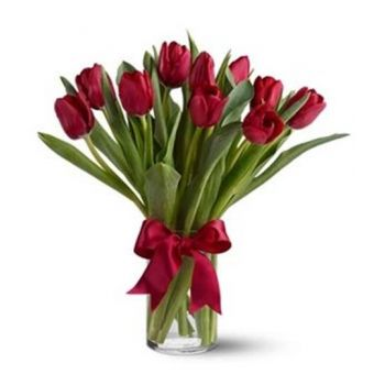 Paris Online blomsterbutikk - Red Beauty Bukett