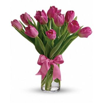 London online Blomsterhandler - Pinkish Dream Buket