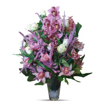 Belgrade online Florist - Oriental Purple Orchid Dream Bouquet