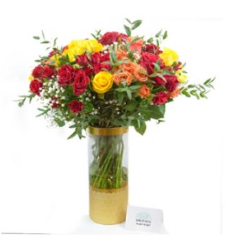 Doha online Florist - Summer Breeze Bouquet