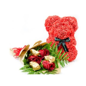 Al Rayyan Fleuriste en ligne - Admirateur secret Bouquet