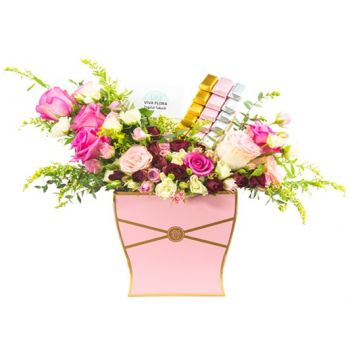 flores Lusail floristeria -  All for You Ramo de flores/arreglo floral