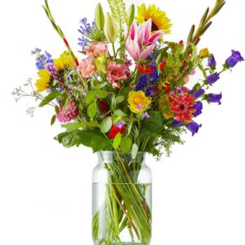 flores Copenhague floristeria -  Bouquet Full in Bloom Ramo de flores/arreglo floral