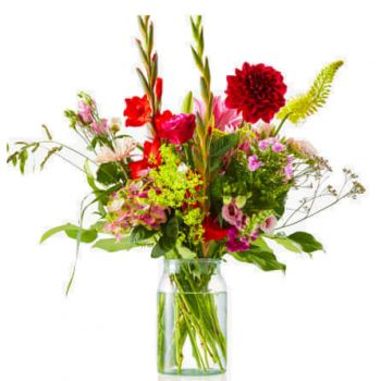 Made flowers  -  Bouquet Eye-catcher Flower Delivery